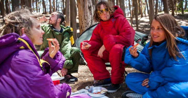 camping, acampar, sacos de dormir, innovación, Chile, chilenos, outdoors, Selkbag