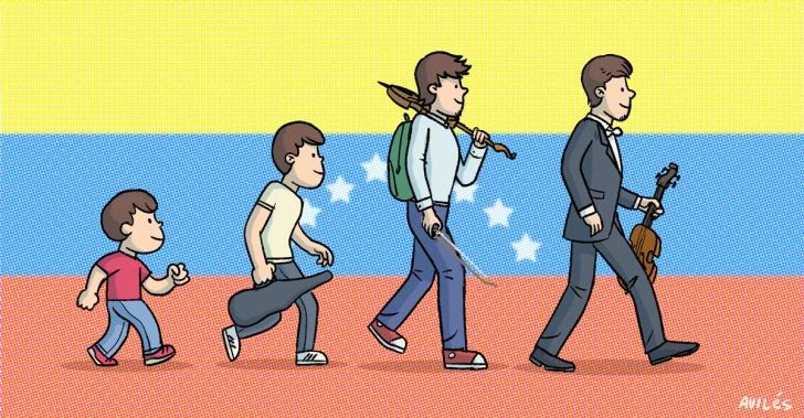música, Venezuela, sociedad, inclusión, orquesta
