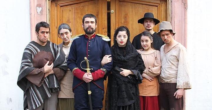 Chile, héroes, olvidados, patria, teatro, Paulo Gaete, música, Manuel García