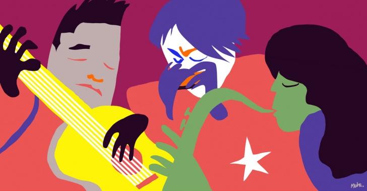 música, músicos, chilenos, Chile, extranjero, jazz, blues, guitarra, saxo, armónica, arte, artistas