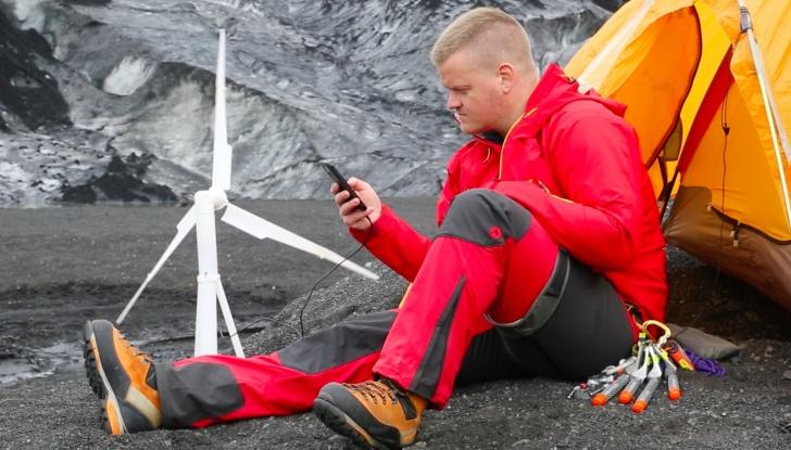 energía eólica, inventos, portátil, Islandia, energía, verde
