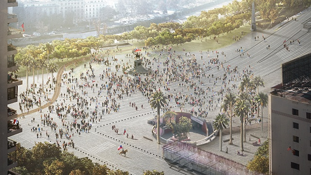 Santiago, ciudad, proyecto, Alameda, arquitectura, concurso, Chile