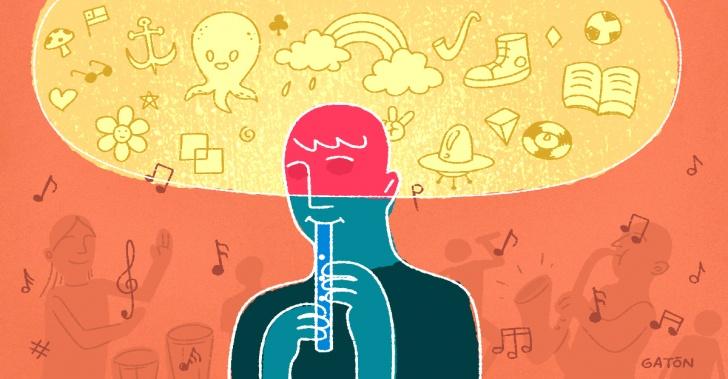 discapacidad, no videntes, ceguera, ciegos, música, educación, orquesta, instrumentos, Escuela Santa Lucía