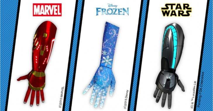 discapacidad, prótesis, prótesis biónica, Disney, Open Bionics