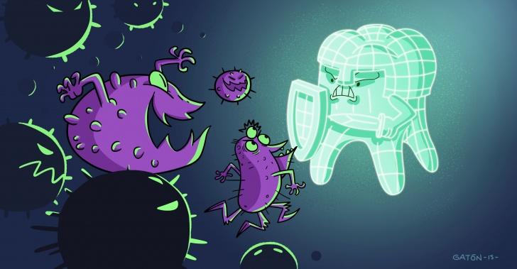 dientes, odontología, ciencia, tecnología, caries, bacterias