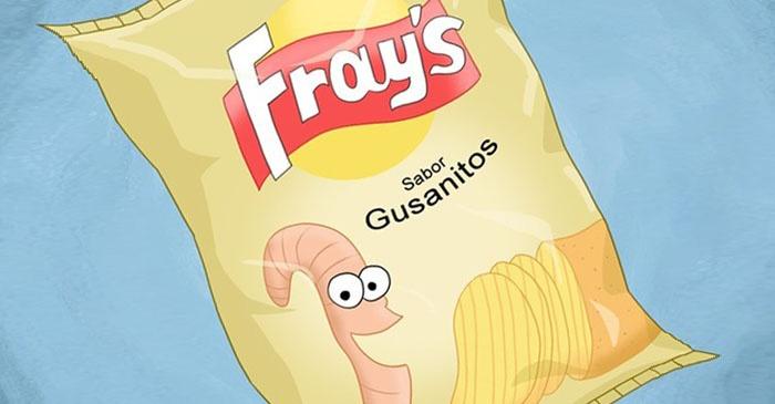 comida, sabores, papas fritas, chips, curiosidades, culturas, extraños, originalidad