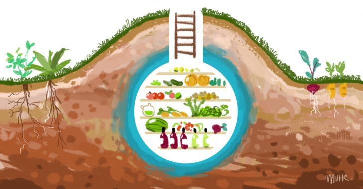 Refrigerador, nevera, alimentos, ecológico