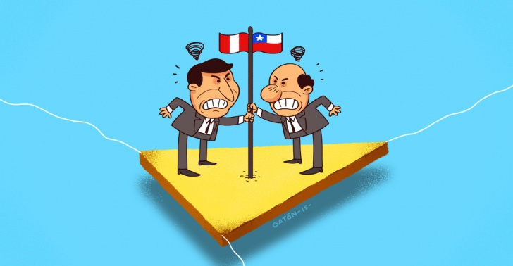 países, Perú, Chile, fronteras, triángulo terrestre, diferendos, conflictos, límites, La Haya, diplomacia