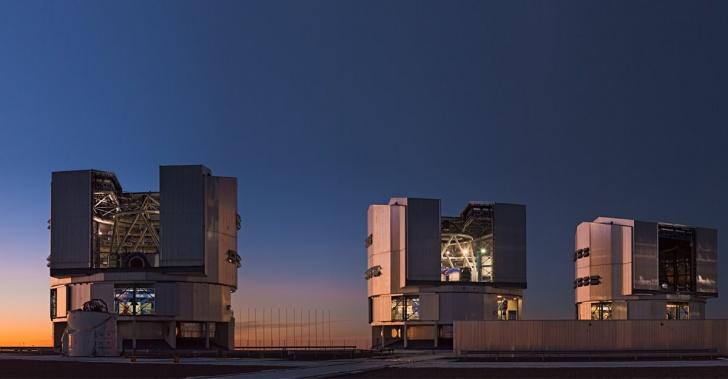 astronomía, ciencia, espacio, galaxias, telescopios, VLT, E-ELT, ESO, Paranal