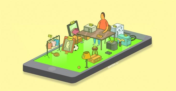 Productos usados, vender, comprar
