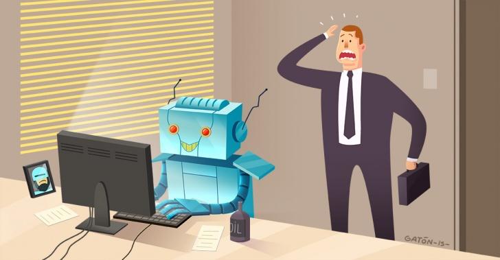 tecnología, máquinas, automatización, robots, trabajo, futuro