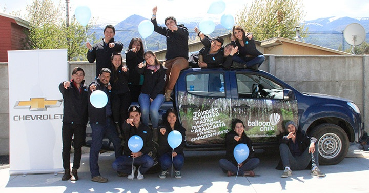 Balloon, Chevrolet, voluntariado, ONGs, solidaridad, emprendimiento