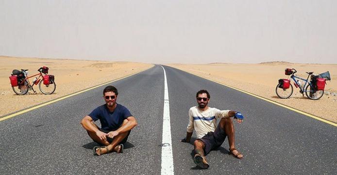 bicicleta, África, viaje, turismo, Jorge Aguayo, Benjamín Campos, ciclismo