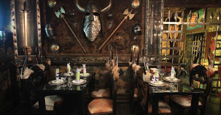 comida, restaurantes, rarezas, freak, decoración, Chavo, vikingos, piratas, gamers