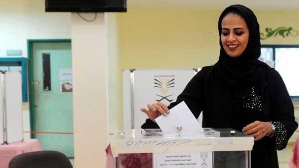 elecciones, Arabia Saudita, concejales, voto femenino