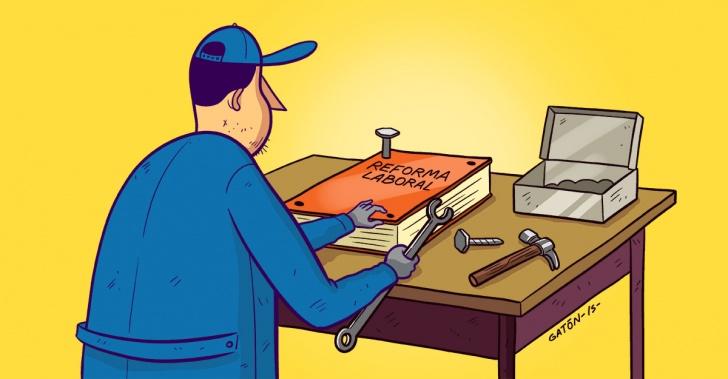 reforma, laboral, trabajo, leyes, proyectos, política, sindicatos, CUT, PYMEs, empleadores, trabajadores, derechos, huelgas, reemplazo