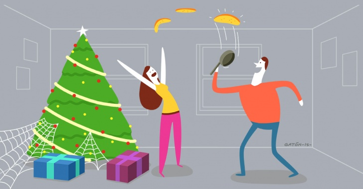 navidad, curiosidades, extraño, viejito pascuero, santa claus, finlandia, arañas