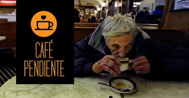 café, cafeterías, pendiente, solidaridad, donaciones