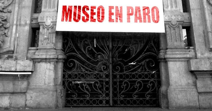 Dibam, paro, museos, archivos, bibliotecas, Ministerio de Cultura, patrimonio