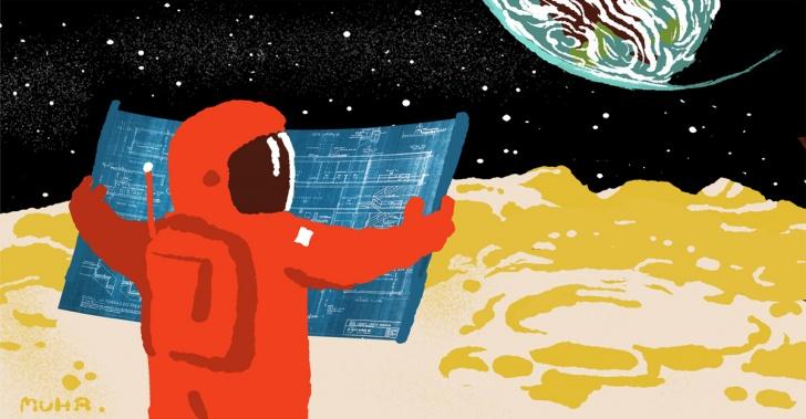 Marte, Luna, espacio, NASA, ESA, ciencia, tecnología, 3D