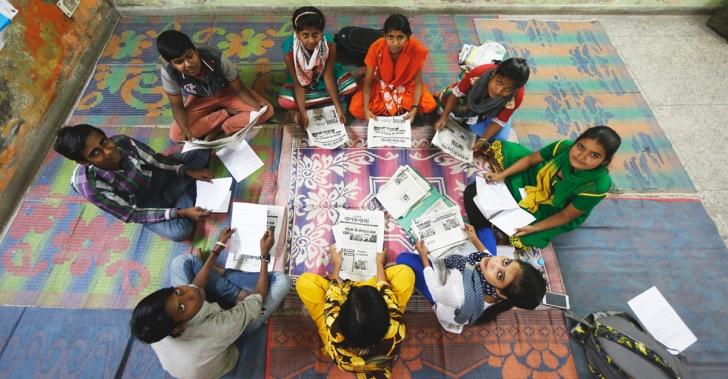 India, medios, niños periodistas, vida en la calle, trabajo infantil, noticias