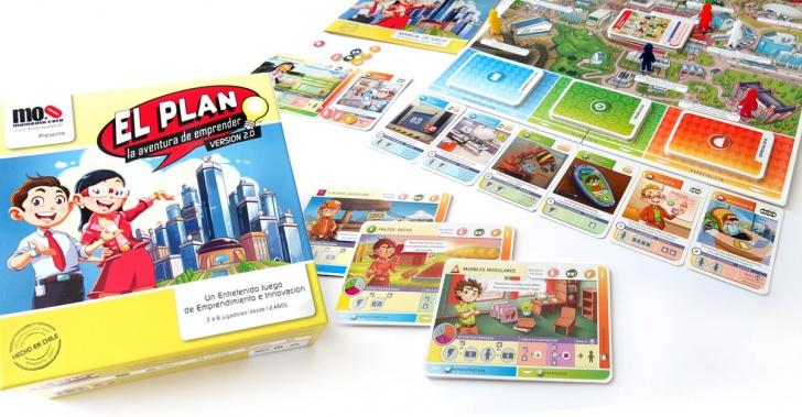 El Plan, juegos, entretención, educación, emprendimiento, tablero, boardgames, torneos, start ups, colegios, escuelas