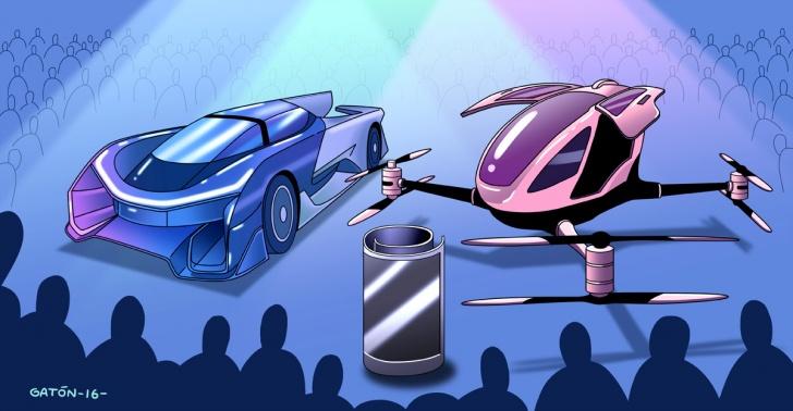 tecnología, CES, innovaciones, creatividad, consumo, electrónica, drones, pantallas