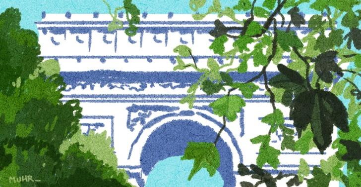 París, Francia, áreas verdes, ciudad, urbanismo, vegetación, medioambiente