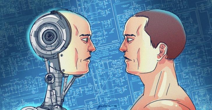robots, androides, tecnología, innovación, ciencia, futuro