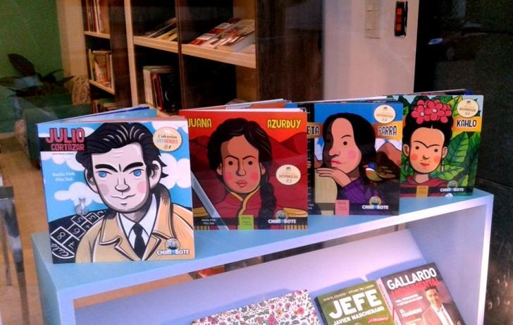Libros, literatura infantil, latinoamérica, héroes, líderes, estereotipos