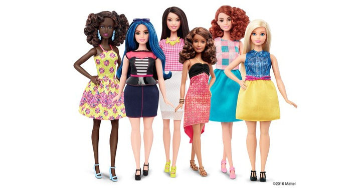 Barbie, muñeca, estereotipos, juguetes, niñas, inclusión