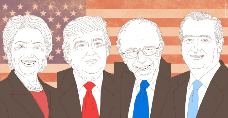 política, elecciones, Estados Unidos, Hillary, Clinton, Bernie, Sanders, Ted Cruz, Trump, presidenciales, primarias, Obamacare, inmigración, inmigrantes, Siria, guerras, refugiados