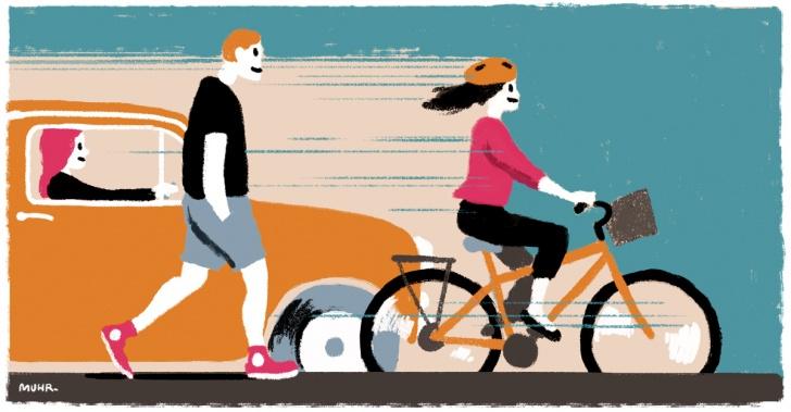 ciclistas, ciclovias, convivencia vial, ley de transito, peatones, seguridad
