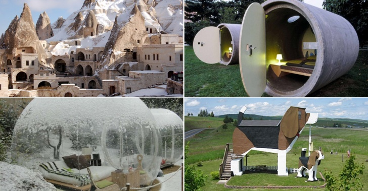 hoteles, rarezas, freak, curiosidades, arquitectura, mundo, viajes, turismo