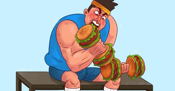 salud, ejercicio, calorías, peso, estudio, ciencia