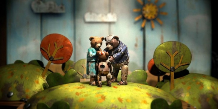 animación, cortometraje, cine, Oscar, Chile, Bear Story