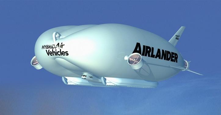 Aviación, airlander, transporte, avión, dirigible, helicóptero, tecnología
