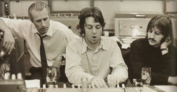 musica, musicos, productores, The Beatles, arte, George Martin