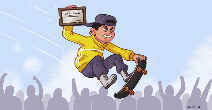 Deporte, reinserción, skate, patineta, rescate social, oportunidad, educación