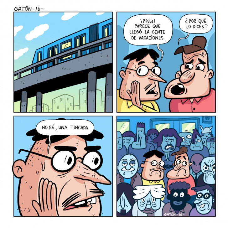 Metro, santiago, colapso, transporte, bus, muchedumbre, multitud, intuicion