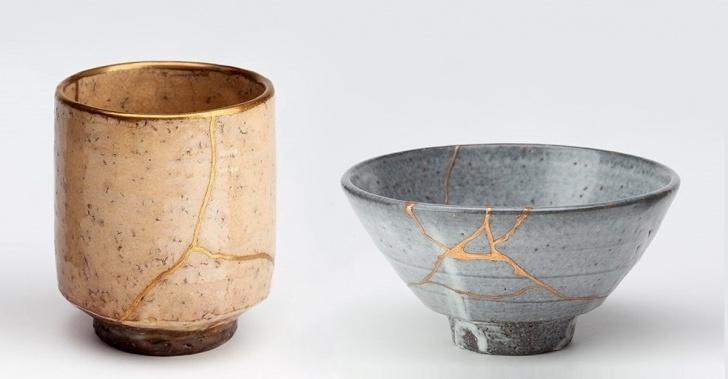 Japón, arte, cultura oriental, cicatrices, reparación, filosofía