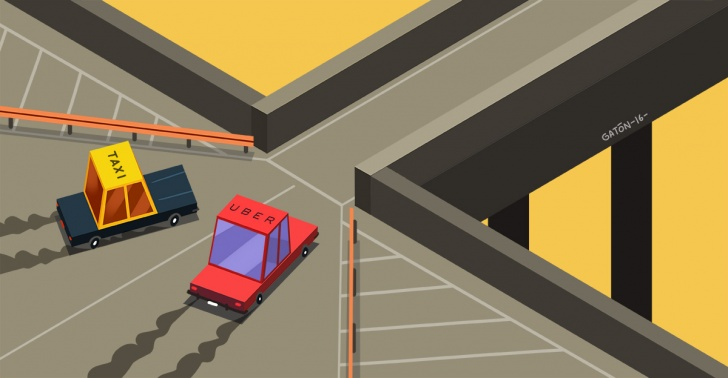 Taxis, Uber, Cabify, transporte, aplicación, Gobierno, autos