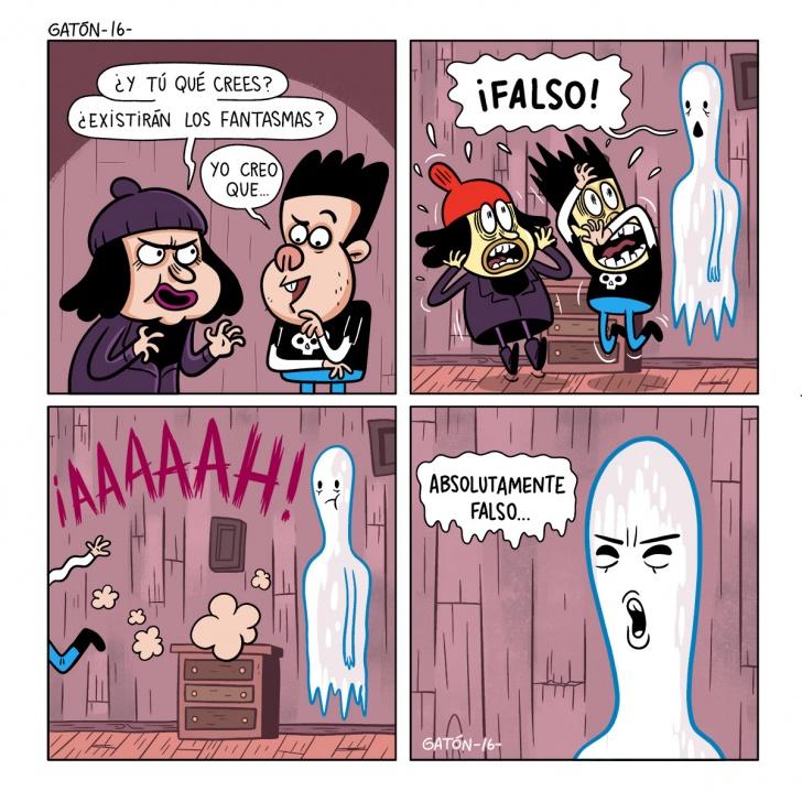 Fantasma, aparición, ghost, miedo, corriendo, susto, temor,