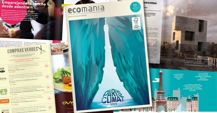 ecomania, revistas, sustentabilidad, ecología, medio ambiente