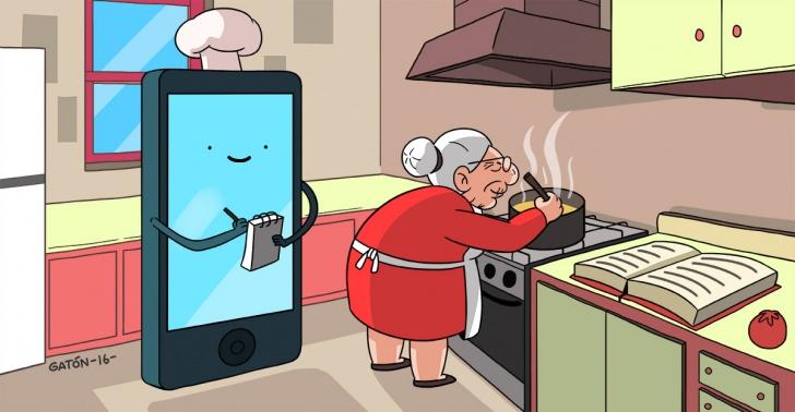 Comida, cocina chilena, recetas, app, Chile, gastronomía