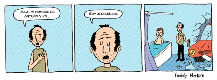 Alcohol, Alcohólicos Anónimos, Baño, Tina, Auto, Choques, accidentes, adicciones