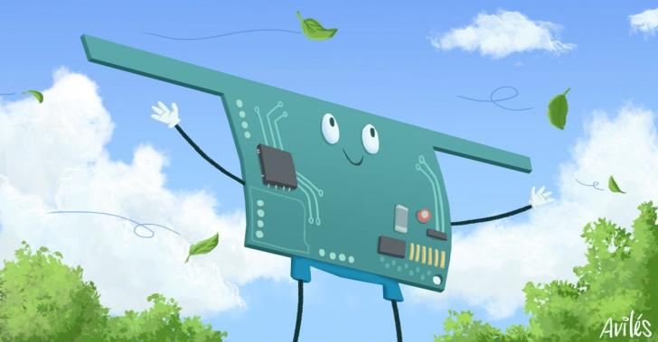 tecnología, computador, batería, radio, WISP