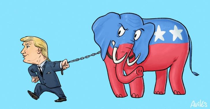 republicanos, política, estados unidos, Trump, trumpismo, GOP, partido republicano, partidos, ideologías