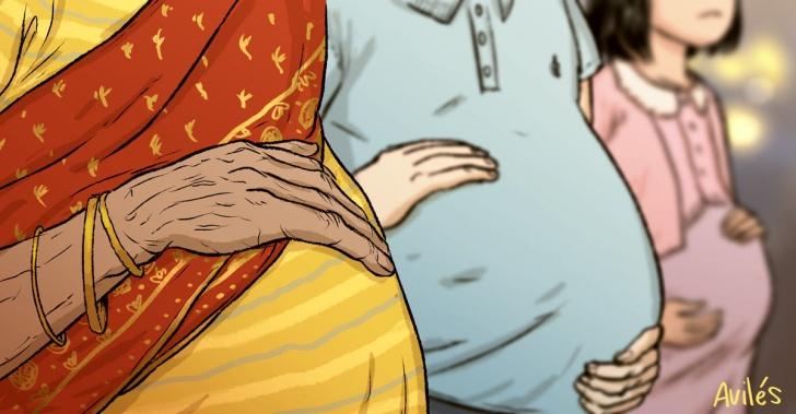 embarazos, biología, curiosidades, freak, maternidad, madres, bebés, hijos
