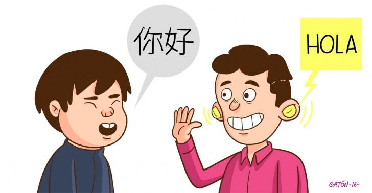 Idiomas, viajes, traducción, comunicarse, extranjero